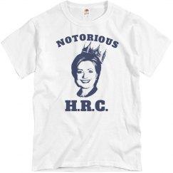 Notorious Hillary Clinton