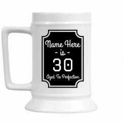 Customizable 30th Birthday Mug