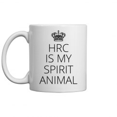 HRC Is My Spirit Animal Mug