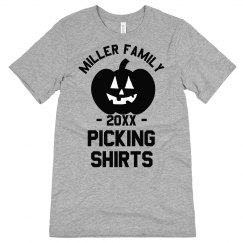 Fall Family Picking Group Tee