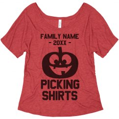Customize Your Own Family Picking Tee