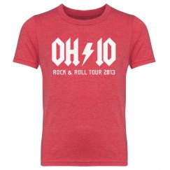 Ohio Rock Concert Band Tee Custom