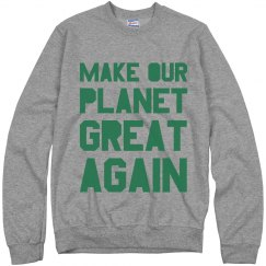 Warm Make Earth Great Again