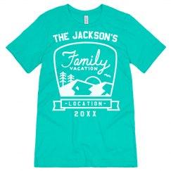 Family Vacation Custom Tees