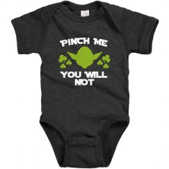 Infant Funny Pinch Me Onesie