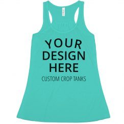 Custom Crop Tank Tops