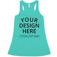 Custom Crop Tank Tops