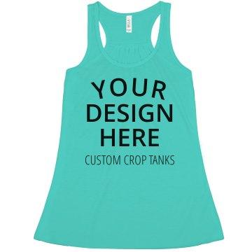 Custom Crop Tops