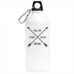 BLK ARROW ALUMINUM WATER BOTTLE
