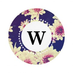 Custom Floral Monogram