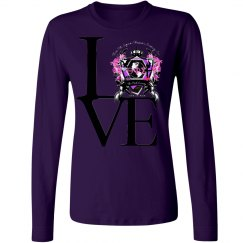 Crest purple long sleeve