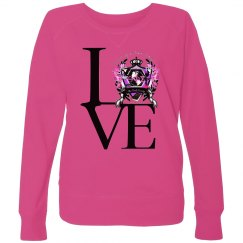 Plus size love shirt
