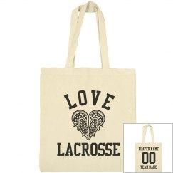 Custom Mad Lacrosse Love