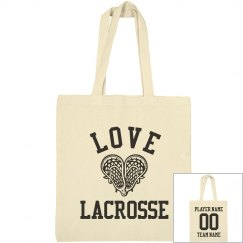 Custom Mad Lacrosse Love