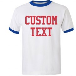 Personalized Ringer Tee