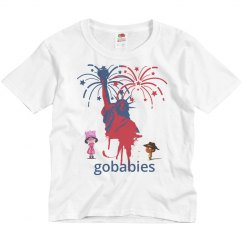 GOBABIES Youth Basic Fruit of the Loom Midweight Tee