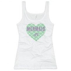 Mermaid At Heart Junior Fit Tank