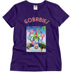 GOBABIES MISSES RELAXED FIT TEE