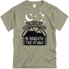 Beneath stars