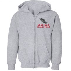 Youth Zippered Hoodie 2 Track