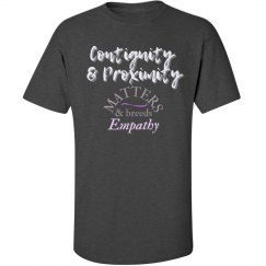 Men & Women's Contiguity Breeds Empathy Men