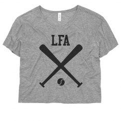 LFA- Flowy Crop w Sleeve