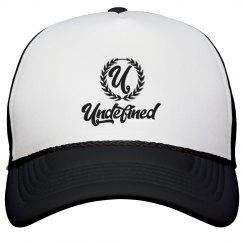 Undefined Trucker Hat Black & Silver