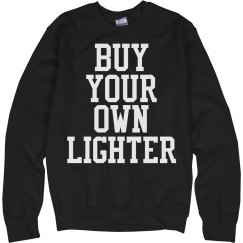 buy your own lighter trendy womens sweater