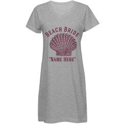 Beach Bride Template