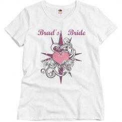 Brad's Bride Heart Tattoo
