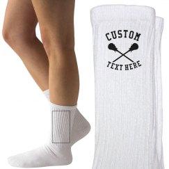 Customizable Lacrosse Socks