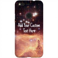 Custom Quote Galaxy Nebula