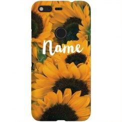Sunny Sunflowers Custom Name