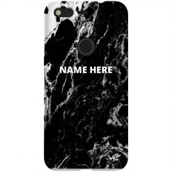 Black Marble Custom Name