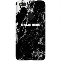 Black Marble Custom Name
