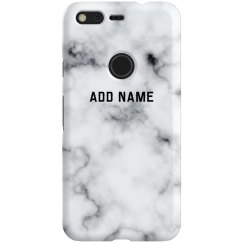 White Marble Custom Name