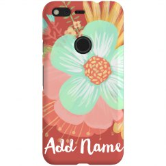 Personalized Floral Flower Name