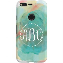 Custom Monogram Watercolor Paint