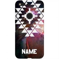 Aztec Space Nebula Custom Name