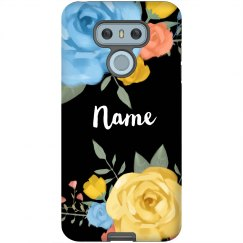 Custom Your Name Floral Phone Case