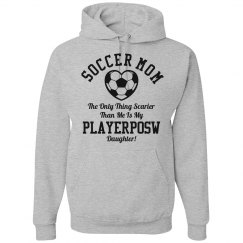 Funny Playerposw Soccer Mom