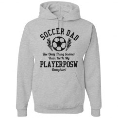 Funny Playerposw Soccer Dad