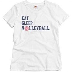 Eat Sleep Volleyball T