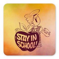 Stay In School Locker Magnet