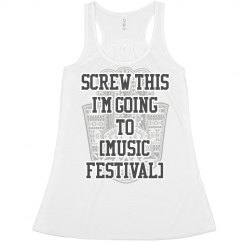 Funny Custom Music Festival Top