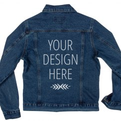 Custom Music Festival Jean Jackets