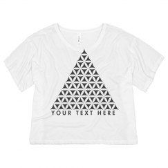 Customizable Geometric Triangle