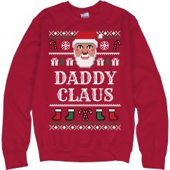 Daddy Claus Ugly Sweater