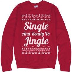 Ready To Jingle Ugly Sweater