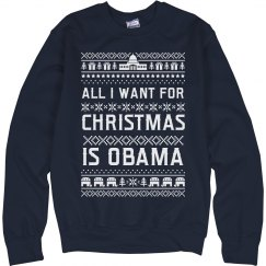 All I Want For Christmas Is Obama